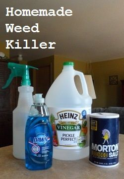 Homemade Weed Killer Here is what you will need: 1 gallon of white vinegar 1/2 c