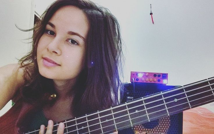 Alana Alberg Brazil 4 String Love Female Bassists