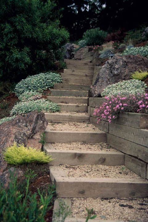 22 best images about Steep Slopes Landscape on Pinterest ... on Steep Sloping Garden Ideas  id=40811