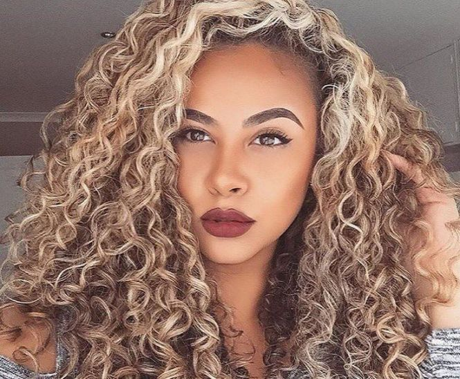 Curly hair highlights pinterest the best curly hair 2017 30 y brown hair with caramel highlights slodive pmusecretfo Gallery