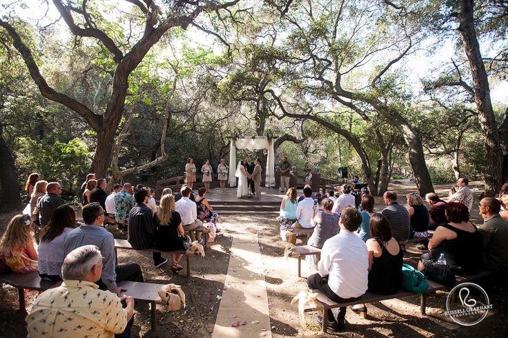 Southern California Wedding Venue Oak Canyon Nature