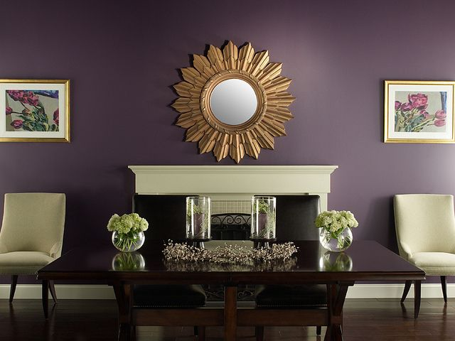 48 best images about purple rooms on pinterest reading on best color to paint living room walls id=39539