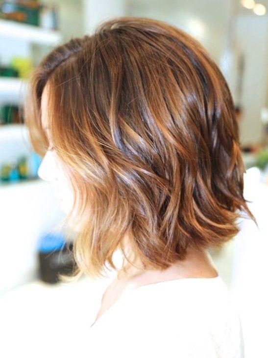 Ombre Bob Haircut: Wavy Hairstyles for Short Hair 2015… I really really want to cut my hair short again!!