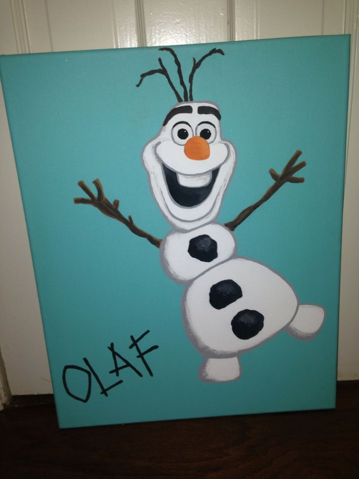 1000 Ideas About Frozen Canvas On Pinterest Canvases