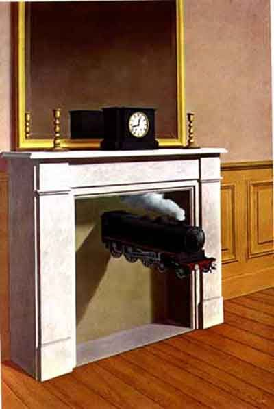 Rene Magritte 1898 1967 Time Transfixed 1939 Mr