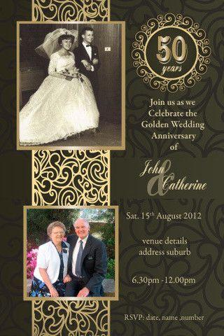 25 Best Anniversary Invitations Ideas On Pinterest Anniversary Party Invitations 40 Wedding