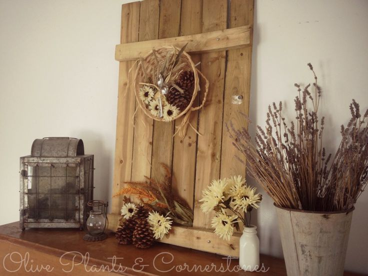Pinterest Redo/ Easy And Cheap Fall Decorating