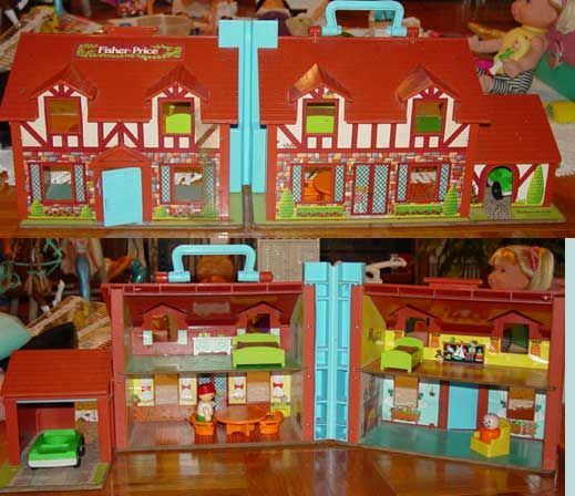 Fisher Price My First Dollhouse Furniture