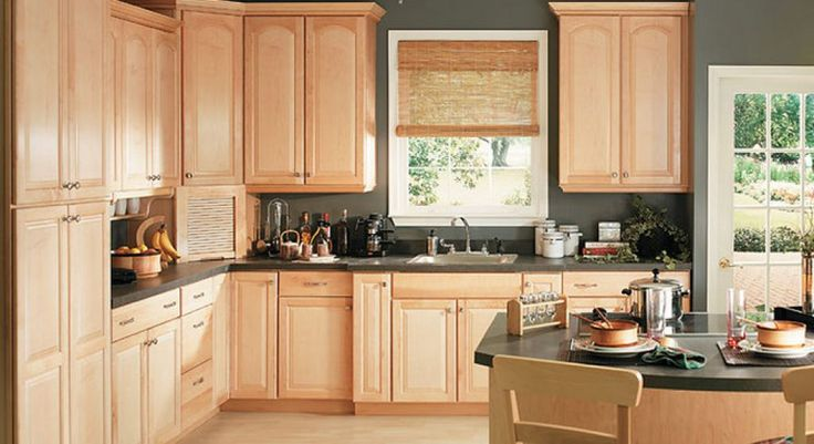 17 Best images about paint color for maple cabinets on ... on Best Countertop Color For Maple Cabinets  id=36912