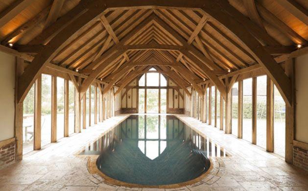 The Green Oak Carpentry Company Pool Barns Timber