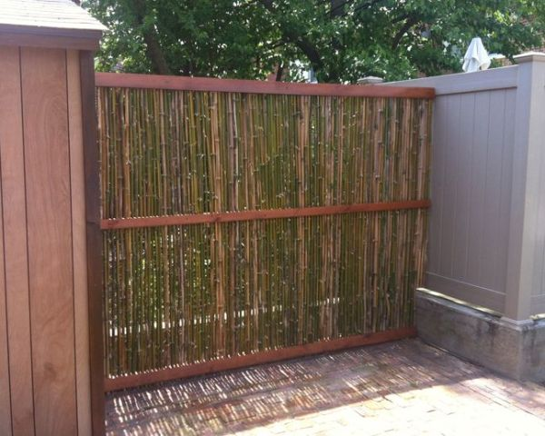 bamboo garden privacy screen 17 Best images about Fencing on Pinterest | Gardens