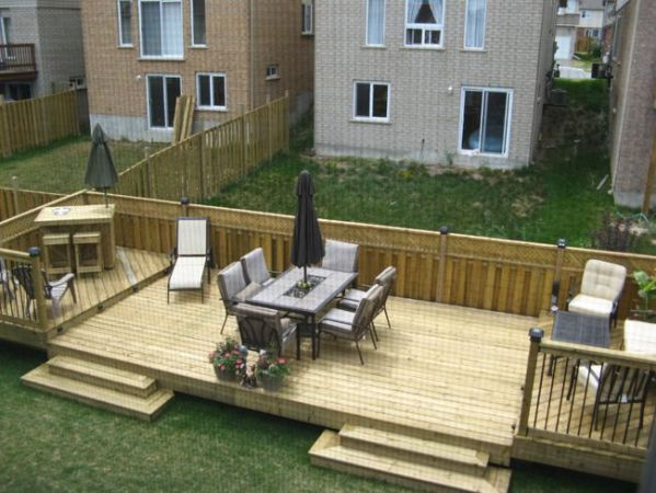 deck and patio ideas for small backyards Flat Decks And Small Back Yard | Patio Designs with Deck