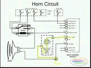 Horns & Wiring Diagram | FORD EXPLORER 1998  CAR
