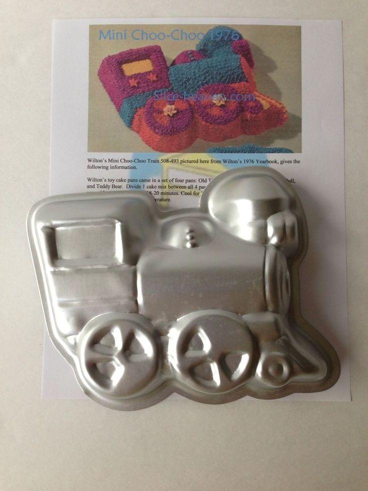 Wilton Mini Choo Choo Train Cake Pan Instructions Picture