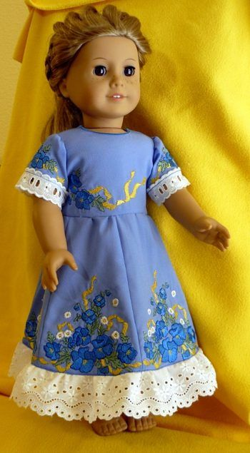 35 Best Images About Machine Embroidery American Girl Doll