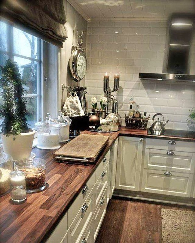 13451 best images about Kitchen Decor on Pinterest ... on Farmhouse Countertops  id=87984