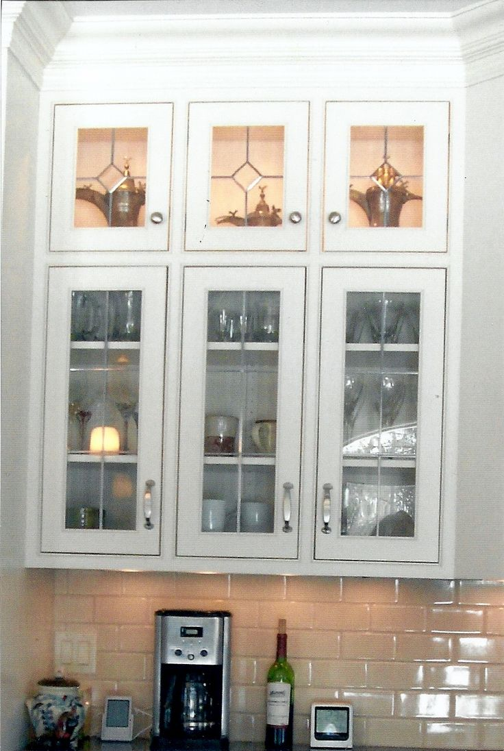 169 best images about glass cabinet doors on pinterest glass kitchen cabinet doors custom on kitchen cabinets with glass doors on top id=14034