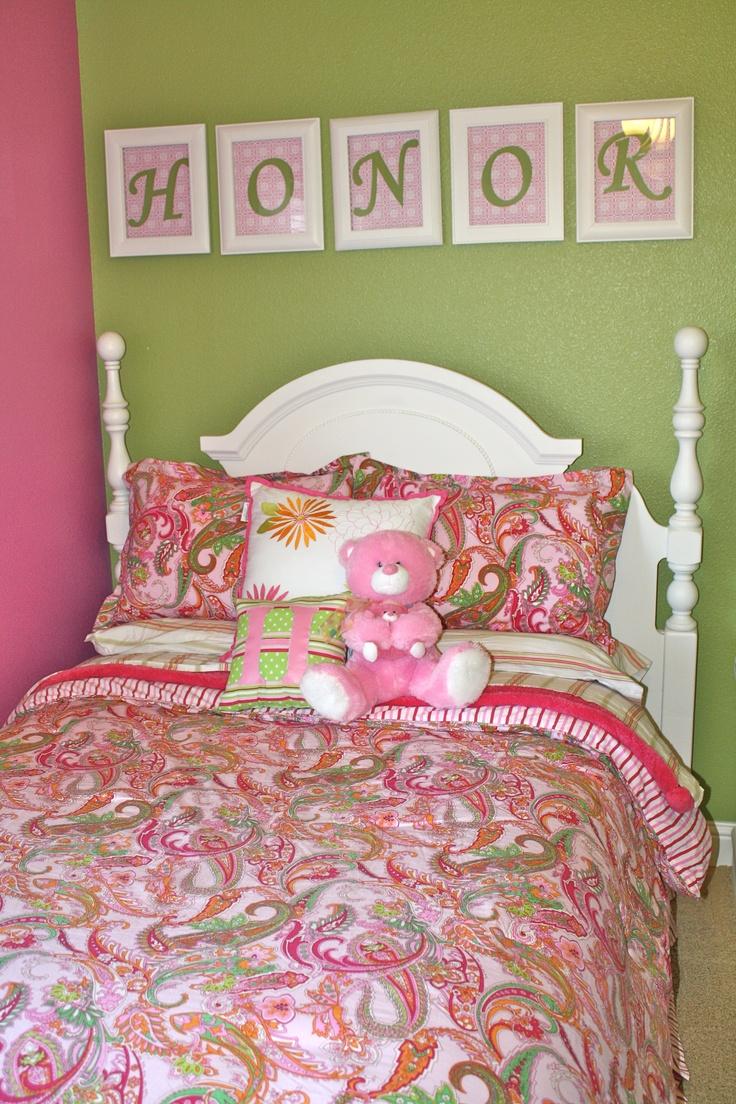 Ralph Lauren Paisley Bedding Honors Big Girl Room