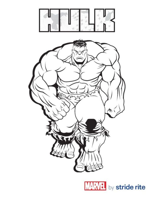 #Hulk Coloring Page | Stuff for my baby boy | Pinterest ...