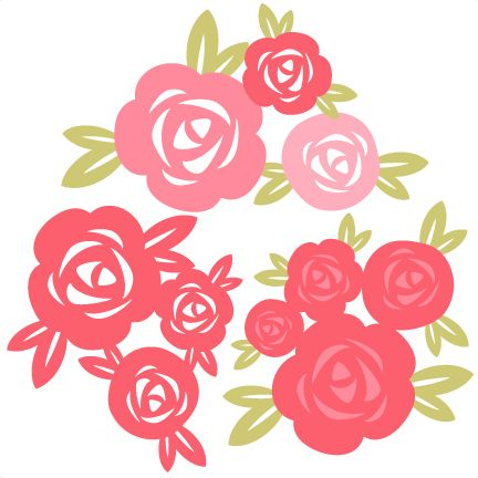 Download Rose Set SVG cutting file for scrapbooking free svg cuts ...