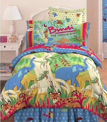 Bindi Jungle Animals Comforter Twin Bedding Set From Bindi Jungle Girl Kids Bedroom