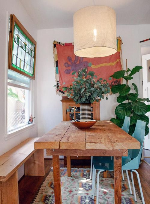 top 1094 ideas about cool boho kitchen dining on pinterest ceramics house tours and design files on boho chic dining room kitchen dining tables id=99268