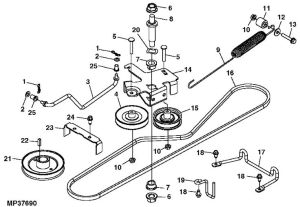 john deere rx75 belt routing diagram | John Deere Rx75