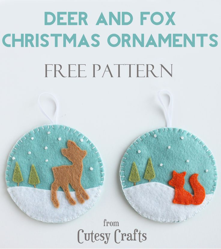 Happy Saturday everyone!  We're on day seven of my 12 Days of Handmade Christmas Ornaments series, and I've got the cutest