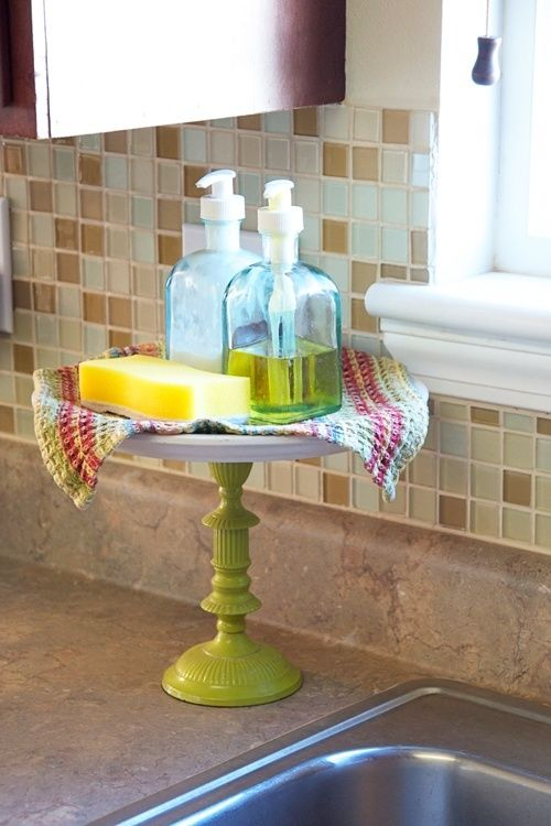 Cake stand for your sink so
