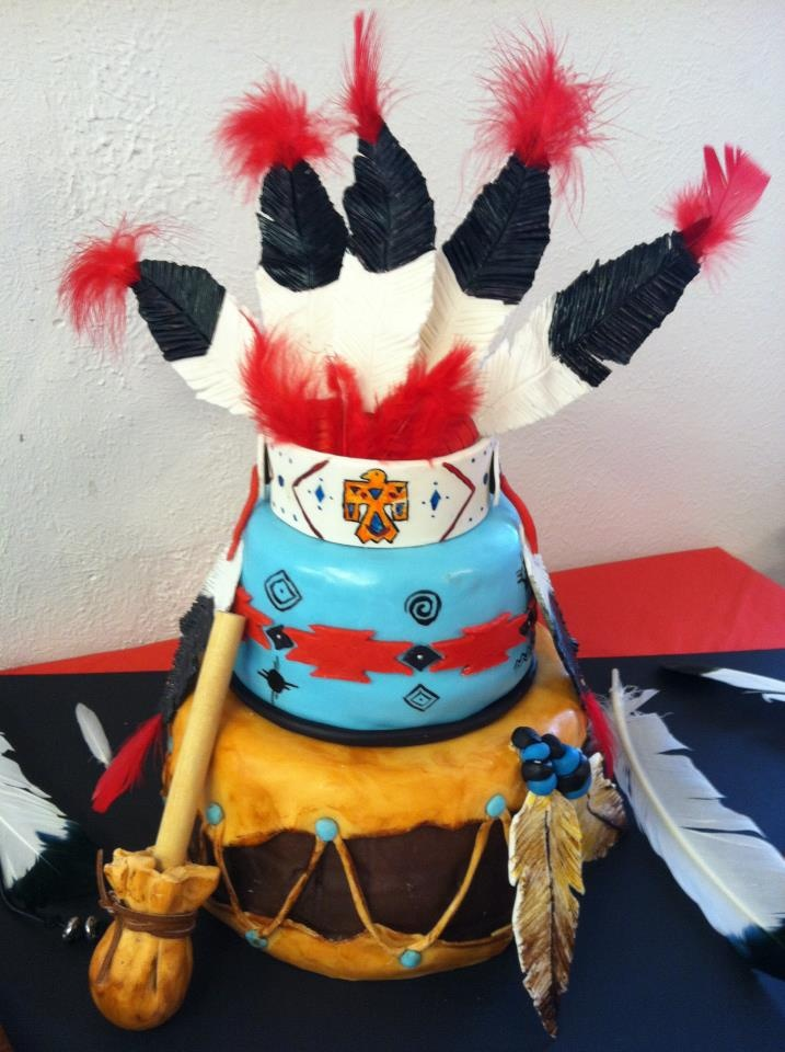 17 Best Images About O Tribal Designs Native Cakes On