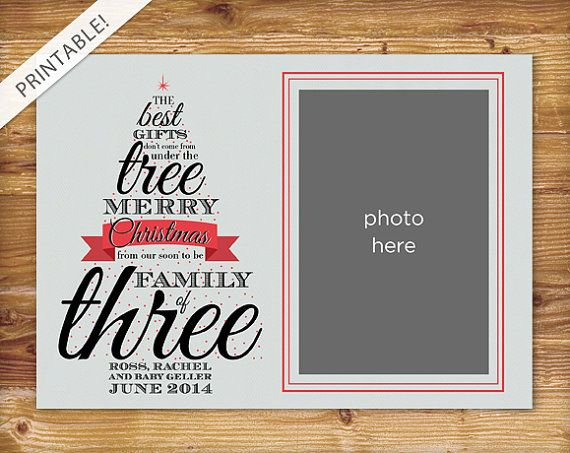 Pregnancy Christmas Cards And Pregnancy Announcements On