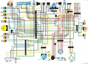 17 best images about Motorcycle wiring diagrams on