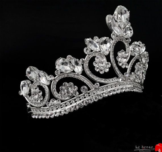 a fairy princess tiara tiaras for wedding  princess tiara crown  crystal by Lesense,