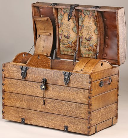 Camelback Steamer Trunk Plans - WoodWorking Projects & Plans