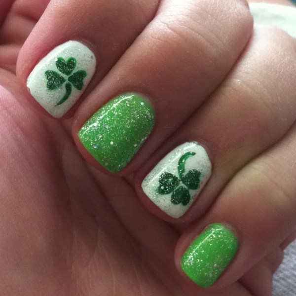 127 best images about St. Patrick's Day Nail Design on ...