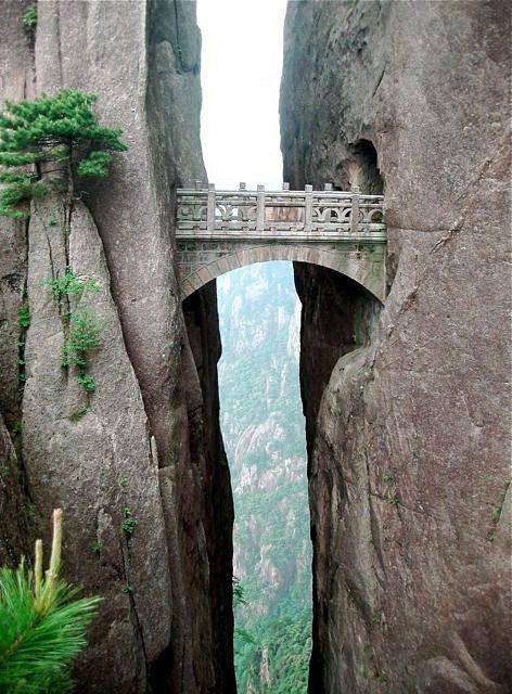 The Bridge of Immortals, China: