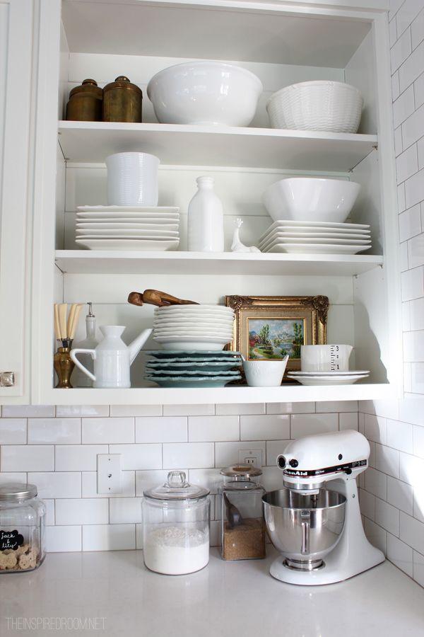 78 images about open shelves on pinterest open kitchen shelving islands and open shelving on kitchen decor open shelves id=92753