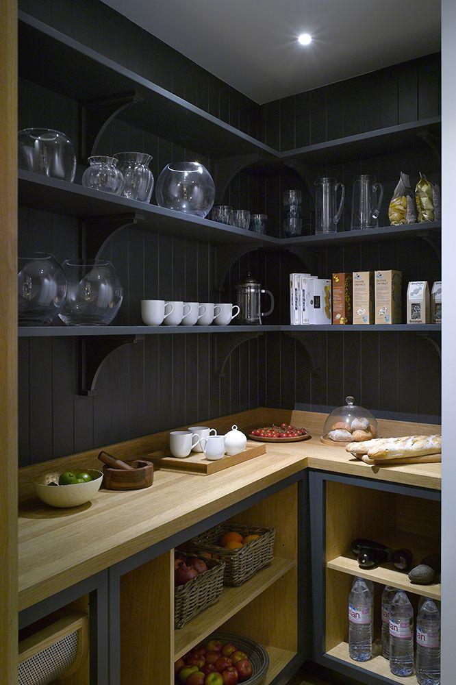 Walk Kitchen Pantry Design Ideas
