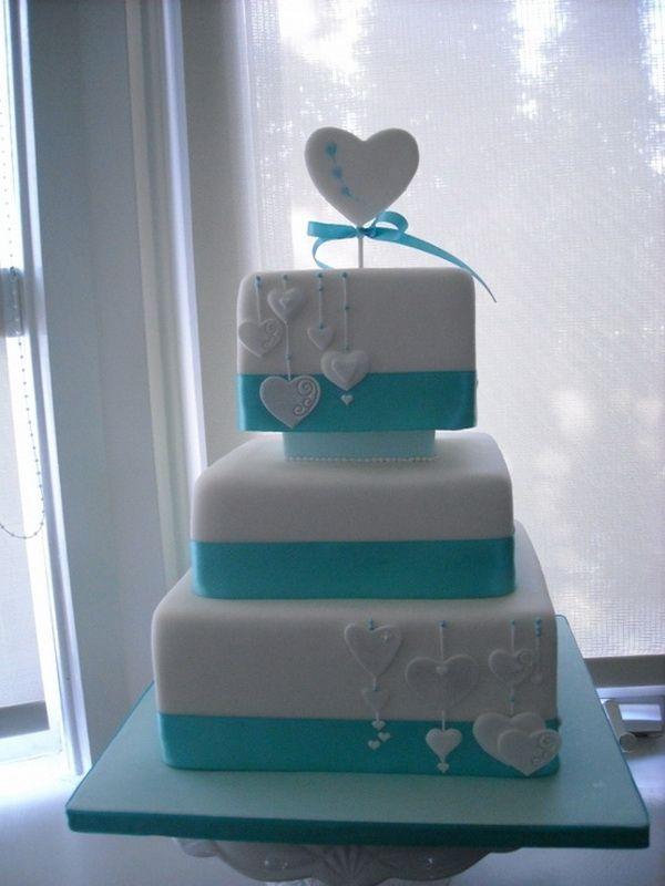 Blue Wedding Cake Ideas Stylish Eve Wedding And Tiffany