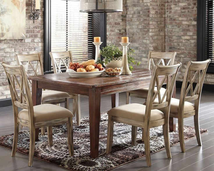 1000+ Ideas About Rustic Dining Set On Pinterest