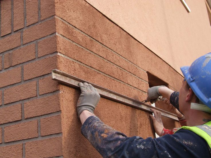 render brick finish on external wall insulation to create on types of walls construction id=88477