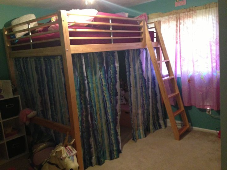 Loft Bed Curtain Ideas Novocom Top