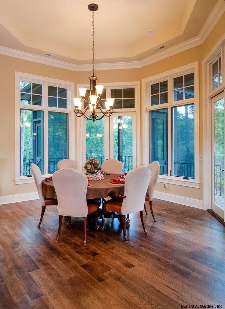 Octagonal Dining Room From The Jasper Hill Plan 5020
