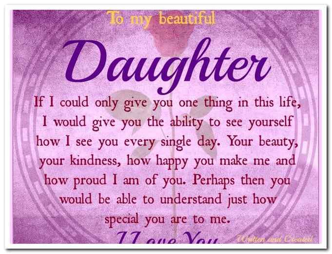 Happy Birthday To My Beautiful Daughter Images Home