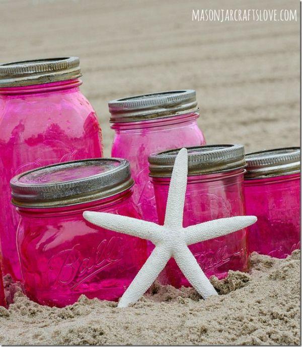 1000+ ideas about Pink Mason Jars on Pinterest ...