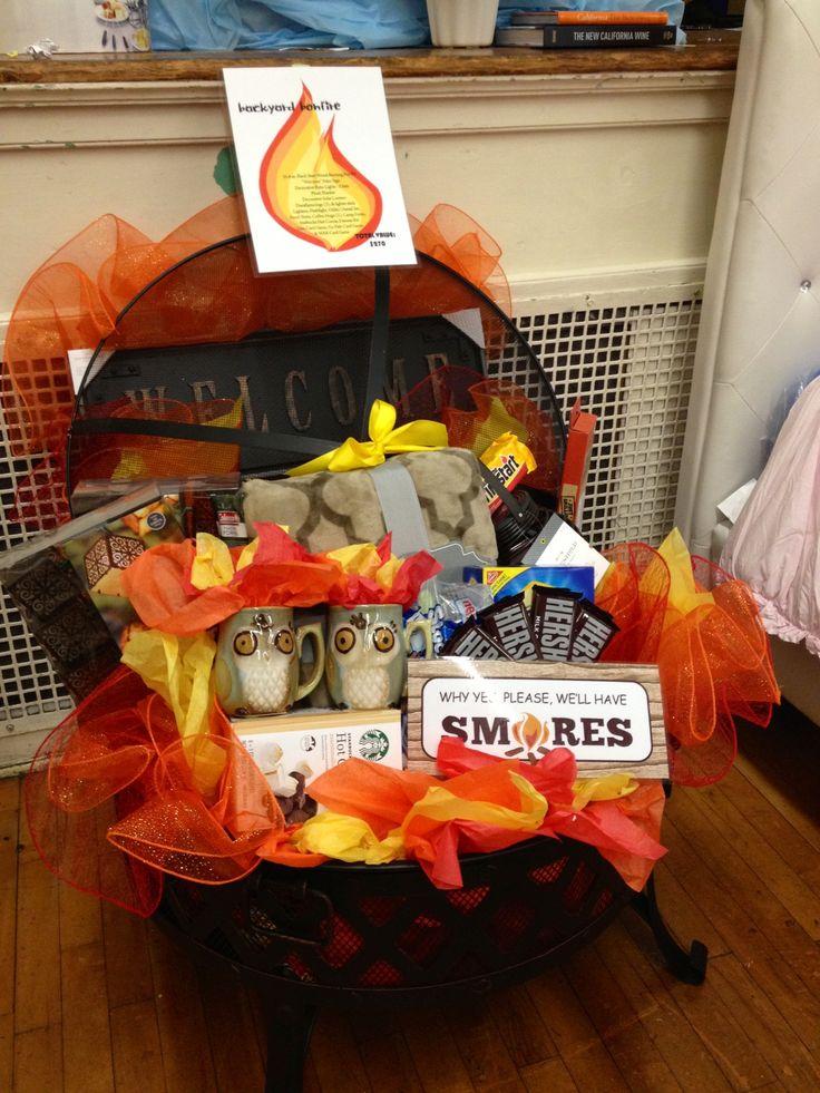 Fire Pit Auction Basket Auction Basket Ideas Pinterest
