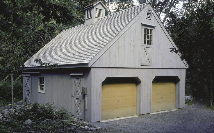 24x30 2 Bay Garage With Full Loft Exterior Pinterest