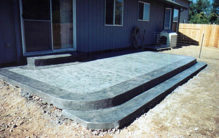 Backyard Patio Ideas For Small Backyards   Home Office Ideas on Concrete Slab Backyard Ideas id=15883