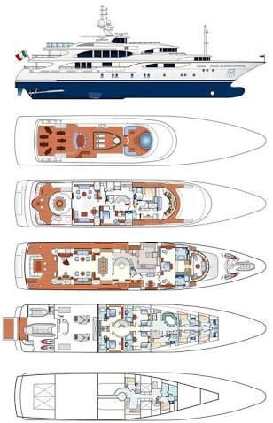 Image Result For Yacht General Arrangement Plan Yacht GA