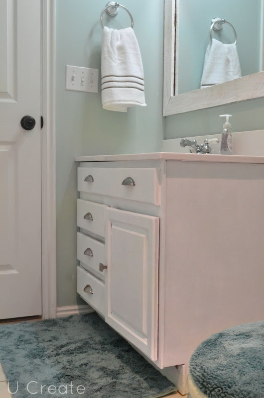 Walls SW 6211 Rainwashed By Sherwin Williams Cabinets